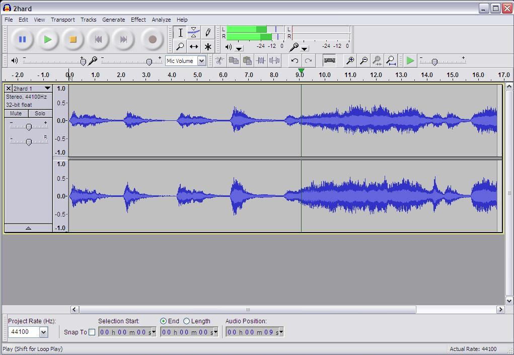 Audacity tutorial: Converting to mp3 or AAC and other