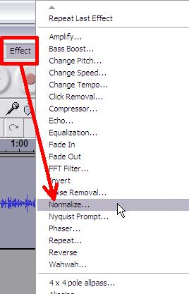 Audacity tutorial:making the sound track louder, increasing the