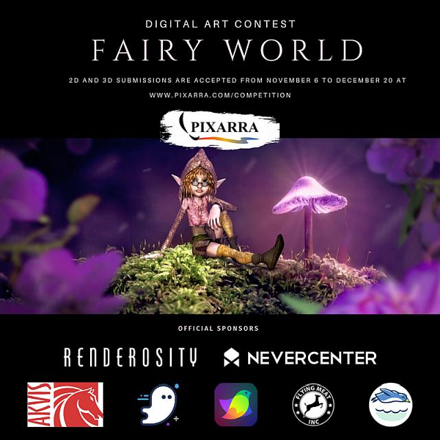 Fairy World - the competition hosted by
