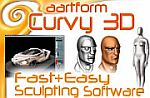 Easy and fast 3D sculting with Aartform's Curvy 3D