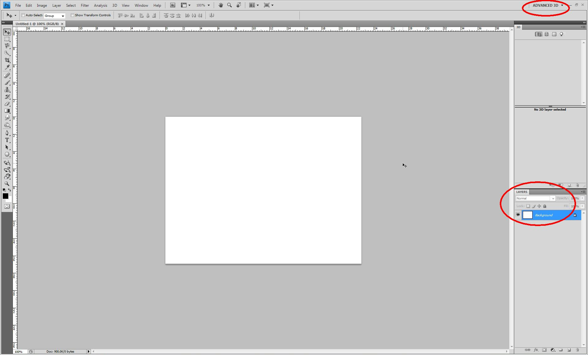Working with 3d layers in photoshop cs4 how to load a model click to enlarge baditri Images