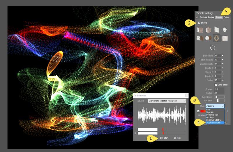 Dogwaffle Sound level detection