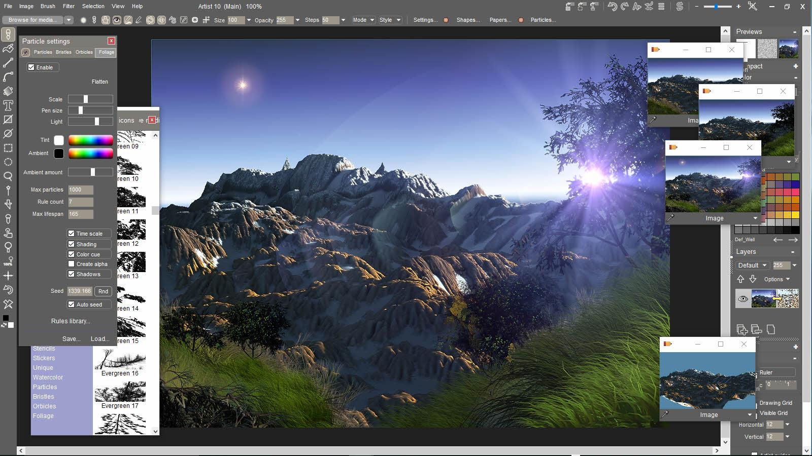 Pd Artist Digital Paint Software