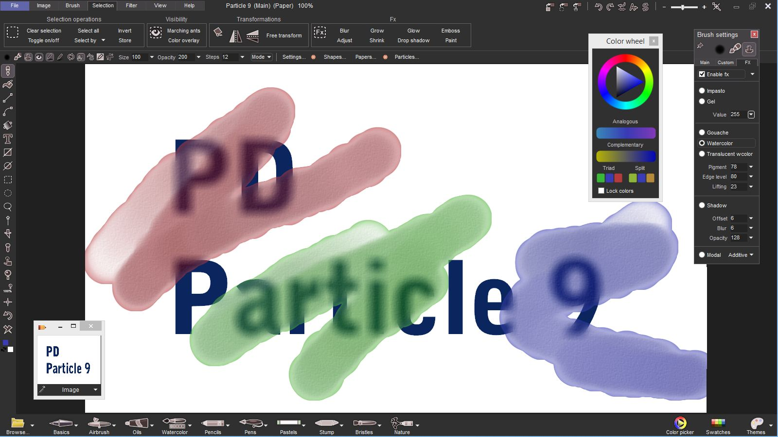 PD Particles - digital painting has never been so much fun!